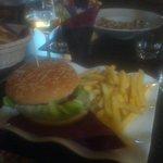 Hamburger tricolore...very good