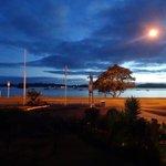 Pahia waterfront at sunrise