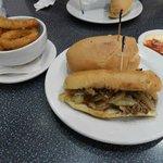...philly cheese steak...il panino + buono dell'universo!!!