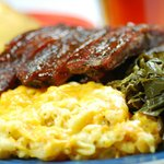 Ribs, Collards and Famous Mac & Cheese