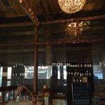 Gate to wine zone