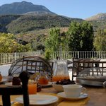 """Breakfast with vieuw """"sierra cabrilla"""""""
