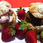 Ice Cream Pate Choux