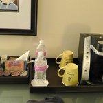 Kaffee & Gratis Wasser