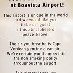 Sign at the airport that says it all :)