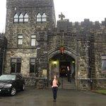 outside castle