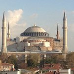 Aya Sophia - from the suite/rooftop terrace