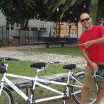 bike dupla, show de bola