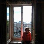 Vista desde la habitación. Museo del Prado.