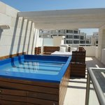 Our casita pool