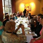 Rehearsal dinner at Cafe Bocce