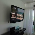 Large TVs all over the rooms..!!