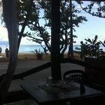 Veduta sulla spiaggia
