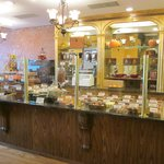 A wide variety of imported European chocolates & gelato