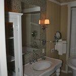 Le coin salle de bain de luxe!