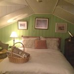 quarto verde - sótão