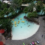 Beach Style Entry Pool -  View from Balcony at Tower 5
