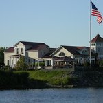 The Lighthouse Restaurant - view from the Mohawk River