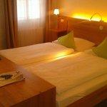 Zimmer 411 - Doppelbett