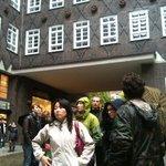 Sandemans tour of Hamburg