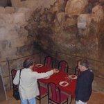 Ruin of a castle in a restaurant (Requena)