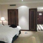 Elegante y acogedora habitación