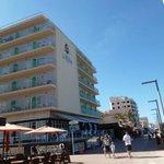 Hotel vom Strand