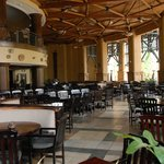 inside aspect of the restaurant