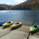 Kayaking on Lake Chilhowee