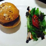 Humburger foie gras