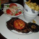 My well done steak