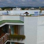 балконы отеля