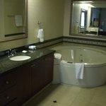 clean bath.