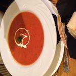Tomato and basil soup.