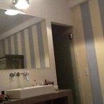 cuarto de lavado y baño