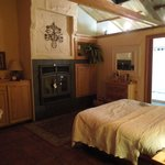 Fireplace in room #3