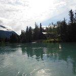 beautiful scenery on raft trip