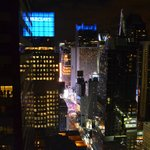 View from suite 4911 - 7th Ave and Times Square