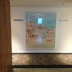 Great art in the corridors