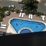 Visão a partir do apartamento - piscina
