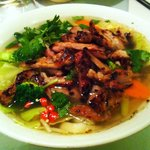 Grill chicken soup+ extra vegetable