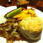 Breakfast buffet - yummy
