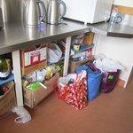 Not enough food storage room