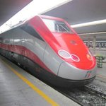 speed train (and it was fast!)