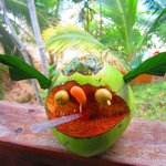 Welcome coconut drink