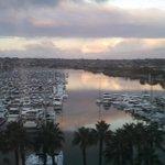 sheraton marina view at sunrise