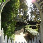 well-manicured gardens