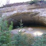 caverne de repos pour les batisseurs de chemin de fer