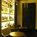 La sala biblioteca
