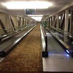 Travelator between Signature towers and MGMGrand